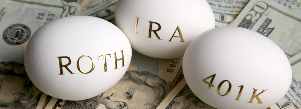 There are different types of IRAs – traditional and Roth, SEP and Simple.