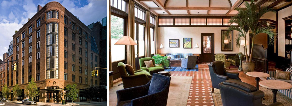 15 Celebrities You Didn't Know Own Hotels | Robert De Niro owns The Greenwich Hotel