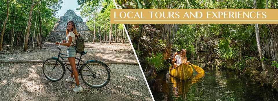 Exciting local tours and experiences in Tulum