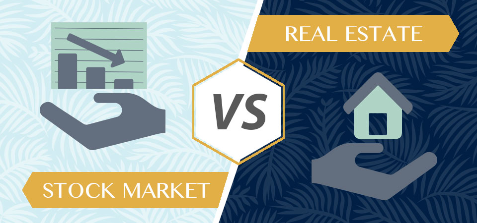 8 Reasons to Invest in Real Estate vs Stock
