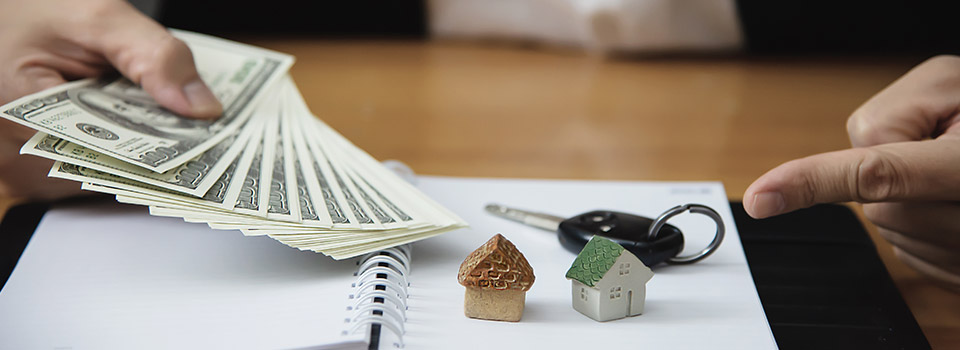 Collect rent by leasing out the property to tenants.