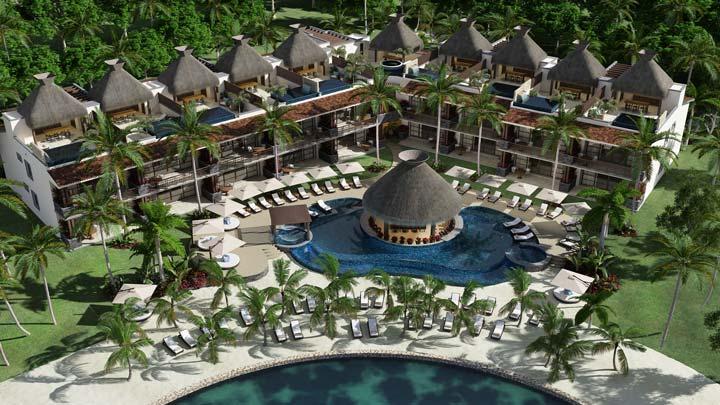 KASA Hotel Riviera Maya - Aerial