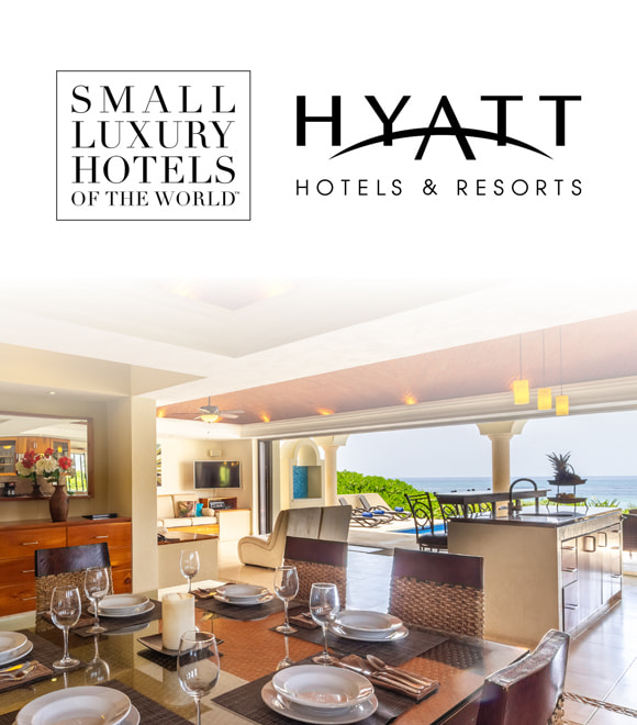 Small Luxury Hotels of the World and Hyatt Hotels