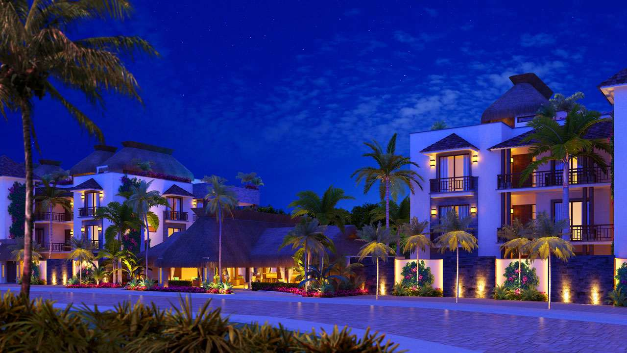 KASA Residences Ceiba Tulum - Nice Front Night View