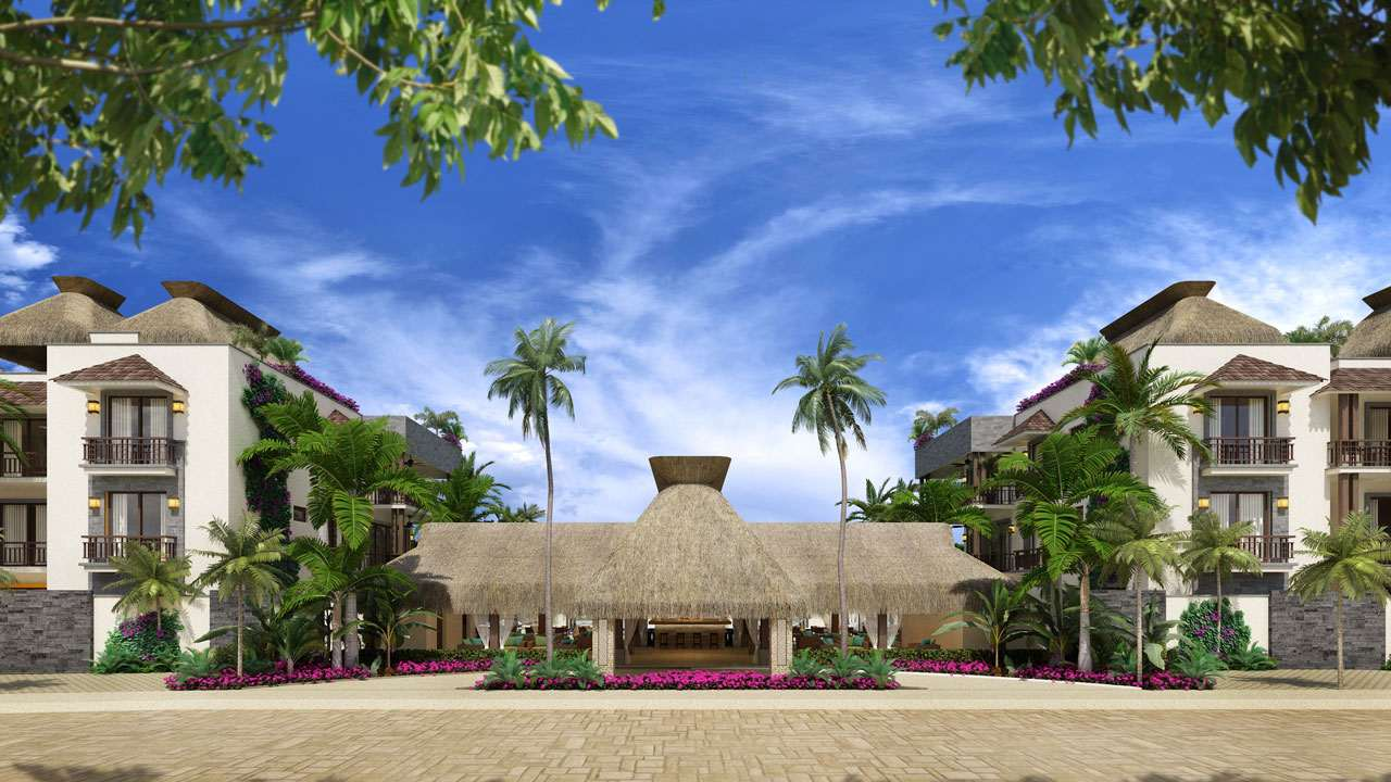 KASA Residences Ceiba Tulum - Front View of the Reception