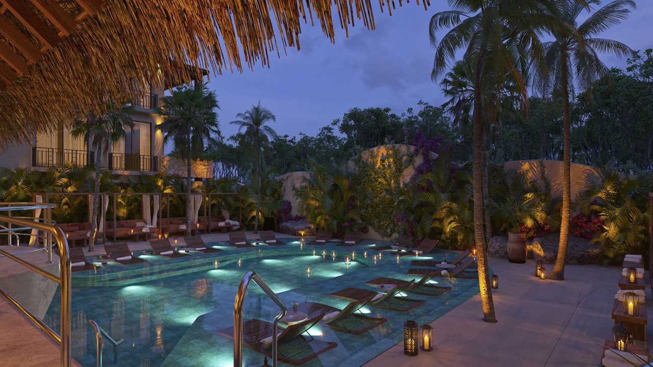 KASA Residences Ceiba Tulum - Beautiful Swimming Pool View