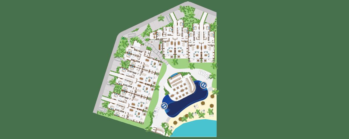 KASA Residences Riviera Maya  - Primer Piso