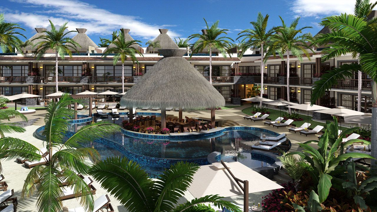 KASA Residences Riviera Maya - Beautiful Swimming Pool View