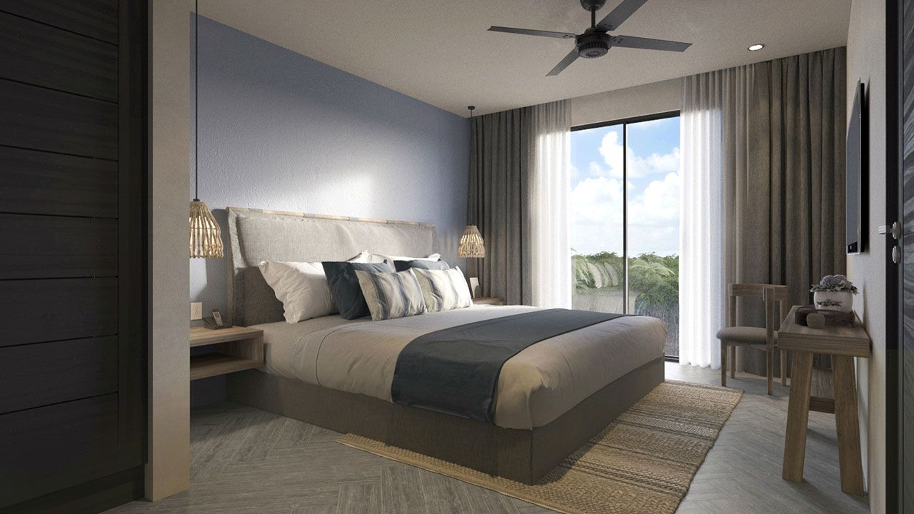 KASA Residences Riviera Maya - Spacious Luxury Bedroom