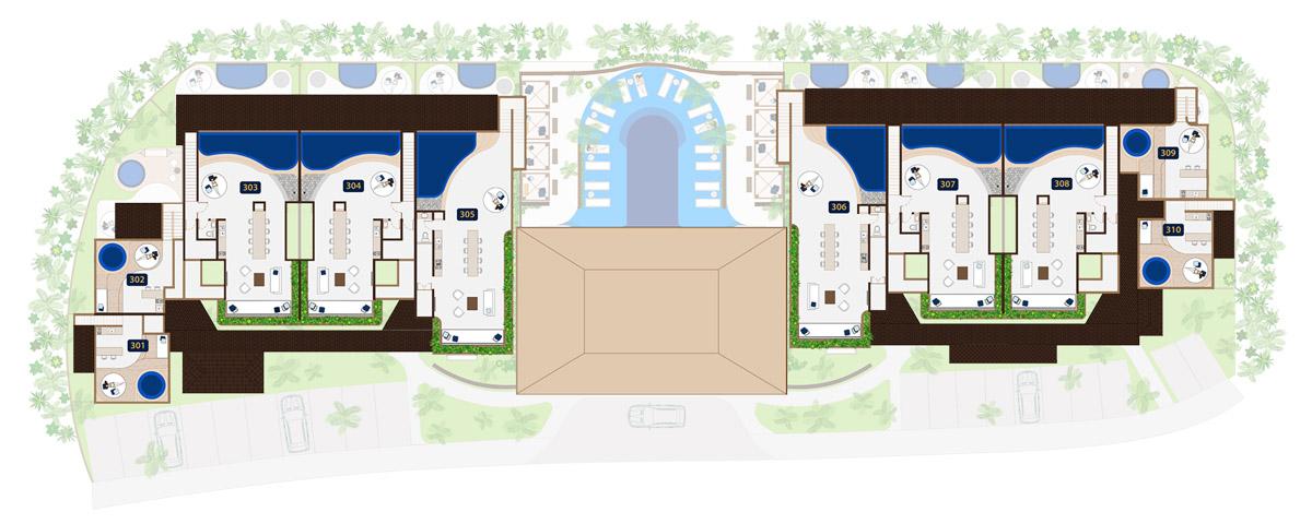 KASA Residences Tzalam Tulum - Roof Tops