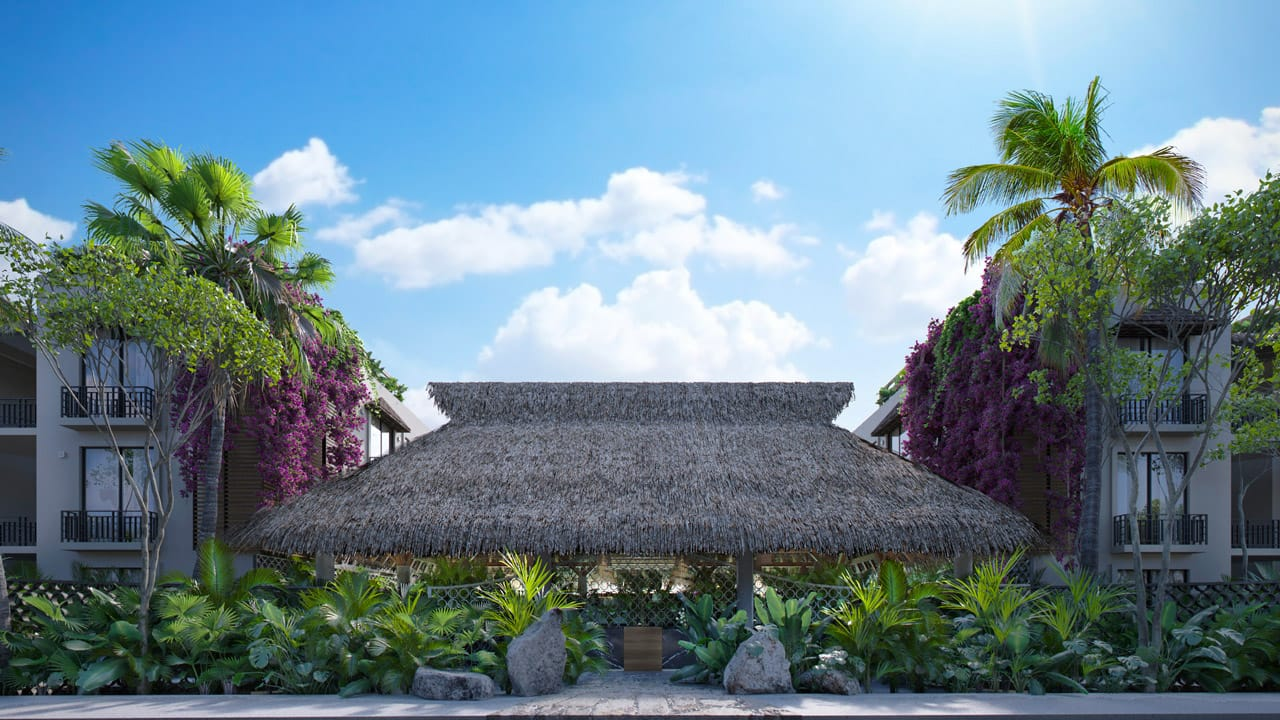 KASA Residences Tzalam Tulum - Entrance