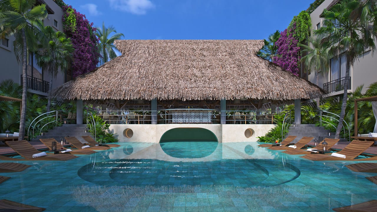 KASA Residences Tzalam Tulum - Beautiful Swimming Pool View