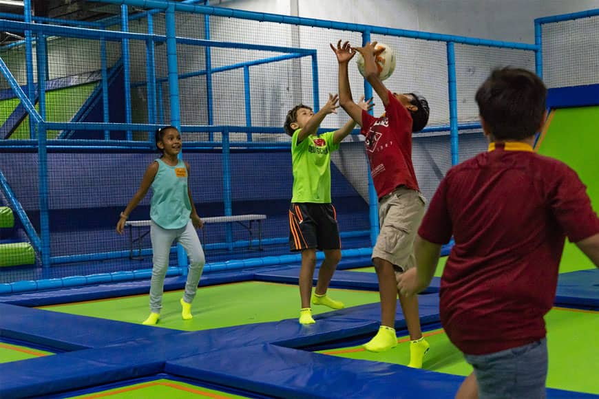 Family Fun Day at Jumping & Flying Trampoline Park in Playa del Carmen 2