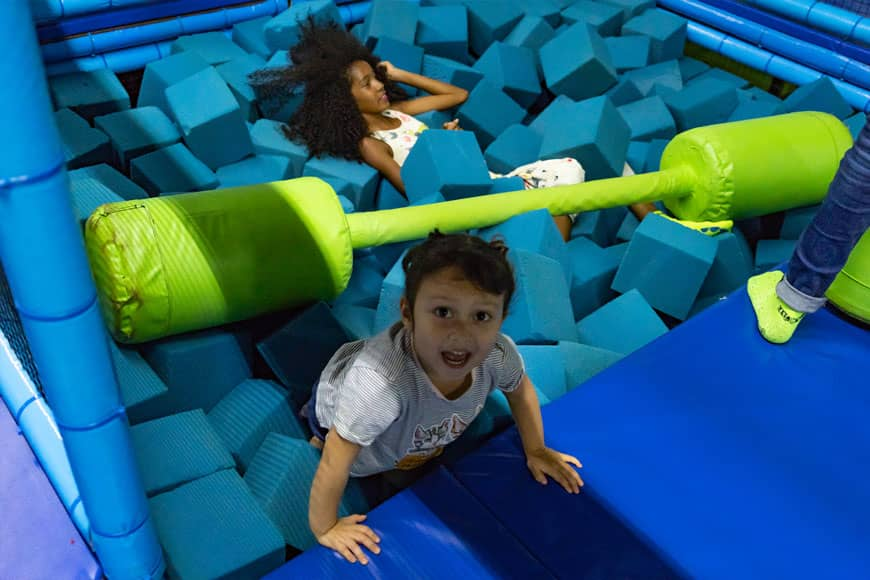 Family Fun Day at Jumping & Flying Trampoline Park in Playa del Carmen 3