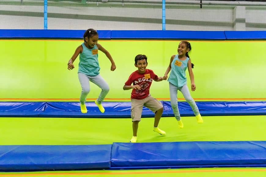 Family Fun Day at Jumping & Flying Trampoline Park in Playa del Carmen 4