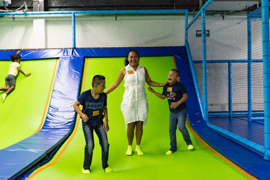 Family Fun Day at Jumping & Flying Trampoline Park in Playa del Carmen 6