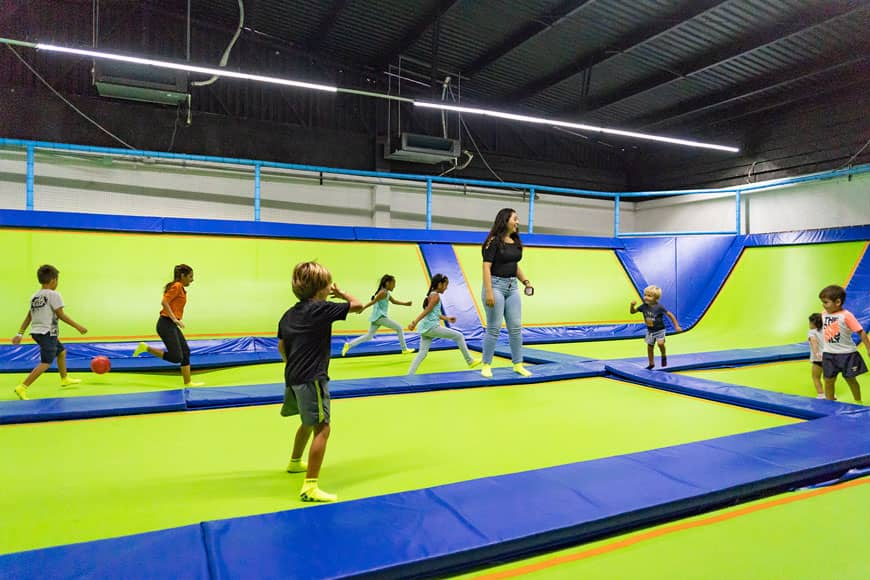 Family Fun Day at Jumping & Flying Trampoline Park in Playa del Carmen 7