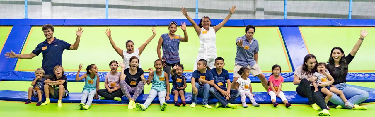 KASA Hotel Collection Hosts Family Fun Day at Jumping & Flying Trampoline Park in Playa del Carmen, Mexico!