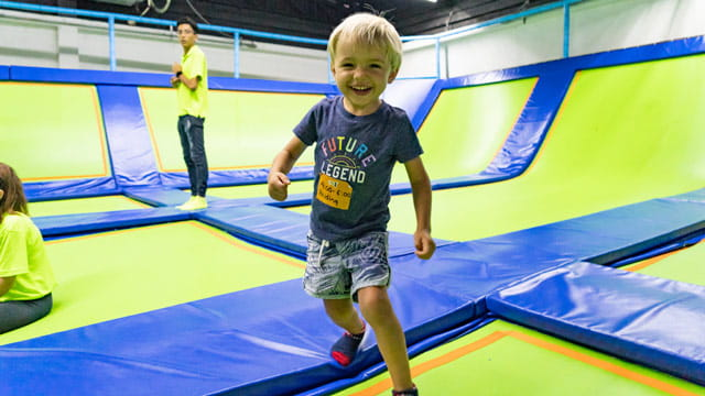 Family Fun Day at Jumping & Flying Trampoline Park in Playa del Carmen