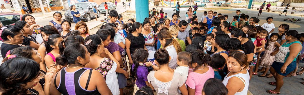 KASA Hotel Parota en Tulum recientemente trabajó para brindar el apoyo que tanto se necesita en Muyil