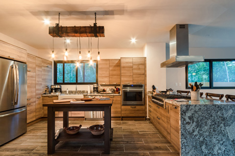 Beach House in Akumal - Kitchen